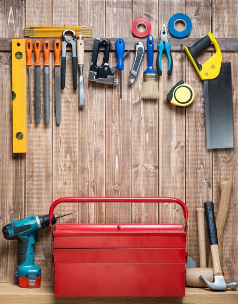 Bestes Handwerkzeug in der Hobbywerkstatt